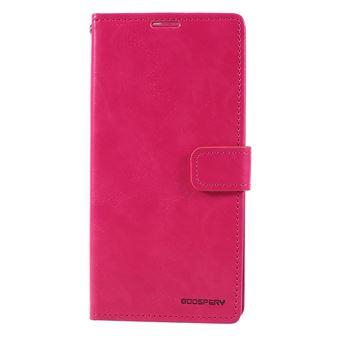Capa PU lua azul rosa para Samsung Galaxy A50