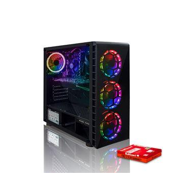 Desktop Gaming Fierce PC Phase Intel Core i7 8700K | 16GB | GeForce GTX  1060 6GB | 1TB HDD - RGB s/ OS
