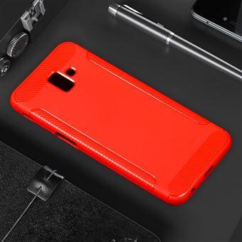 5e3a8dff3e15b Capa Magunivers TPU fibra de carbono fosca vermelho para Samsung Galaxy J6  Plus - Bolsa Telemóvel - Compra na Fnac.pt