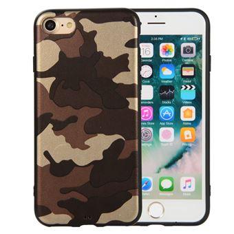 Capa Magunivers TPU padrão de camuflagem marrom para Apple iPhone 8/7 4.7 inch