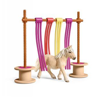Acessório de Brincar Equitação Schleich e Obstáculo de Treino de Póneis