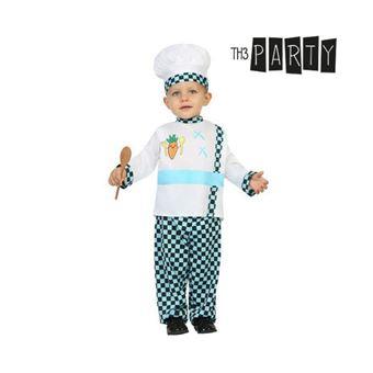 Disfarce para Bebés Th3 Party Cozinheiro 0-6 meses