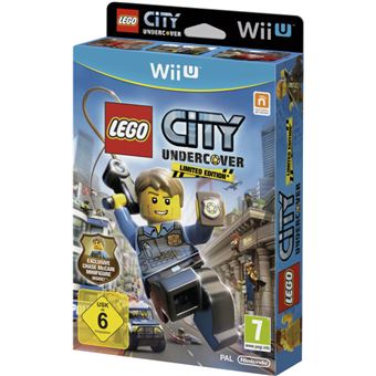 LEGO CITY Undercover Limited Edition Wi U