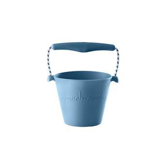 Balde de Praia Flexível Scrunch - Azul Pastel
