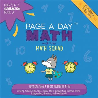 page ADay Math Paperback -