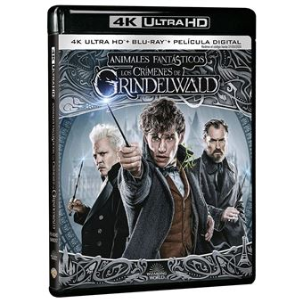 Fantastic Beasts: The Crimes of Grindelwald (4K Ultra HD) / Animales Fantásticos: Los Crímenes De Grindelwald (2Blu-ray)