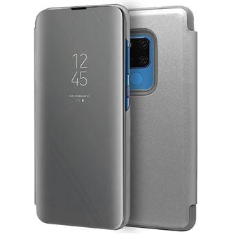 Capa Livro COOL para Huawei Mate 20 X Clear View Prata