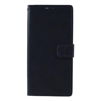 Capa PU lua azul azul escuro para Samsung Galaxy A50