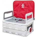 Cadeira Portátil Nikidom   Flat Pack Portable Booster Vermelho