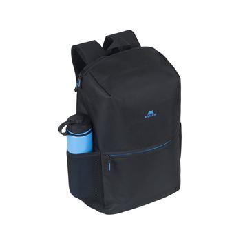 """Rivacase 8067 + SPORT BOTTLE 39.6 cm (15.6"""") Backpack Black"""
