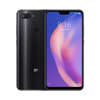 Smartphone Xiaomi 8 LITE Mi 4GB 64GB Preto