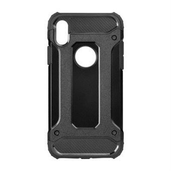 Capa Armor Forcell para iPhone X Preta