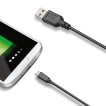 Cabo USB Celly USB - Micro USB Preto