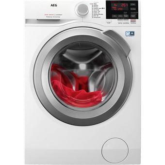 Máquina de Lavar Roupa Carga Frontal AEG L6FBG824 8Kg A+++ Branco