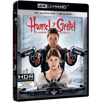 Hansel & Gretel: Witch Hunters (4K Ultra HD) / Hansel y Gretel (2Blu-ray)