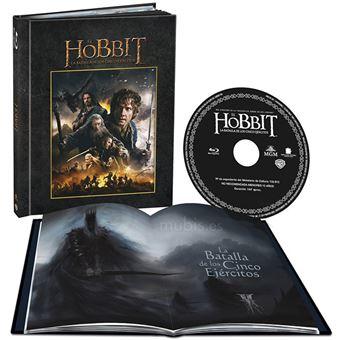 The Hobbit: The Battle of the Five Armies (Digibook) / El Hobbit 3: La Batalla de los Cinco Ejxercitos (Blu-ray)