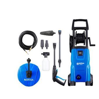 Máquina de Lavar a Pressão Nilfisk c 125.7-6 pcad x-tra de Pé | Eléctrico | 460 l/h | 1500 w - Preto e Azul