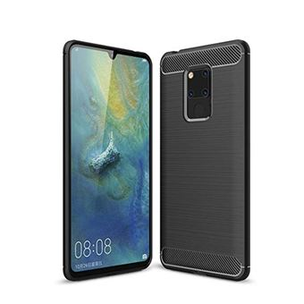 Capa Carbon Gel TPU Carbono Multi4you para Huawei Mate 20 X - Preto