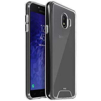 Capa Flip Avizar para Samsung Galaxy J4 Coleção Cristal Bimatéria Transparente