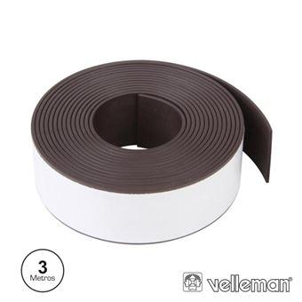 Fita Adesiva Magnética Velleman 300 X 2.5Cm