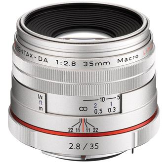 Pentax HD-DA 35mm F2.8 Macro Limited SLR Lentes macro Prateado