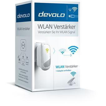 Devolo 9779 adaptador de rede elétrica 300 Mbit/s Ethernet LAN Wi-Fi Prateado, Branco 1 peça(s)