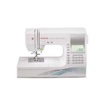 Máquina de Costura Eletrónica Singer Qantum Stylist 9960