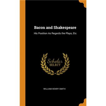 bacon And Shakespeare Hardcover