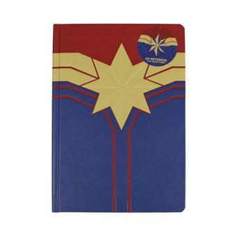 Caderno A5 Marvel Captain Marvel