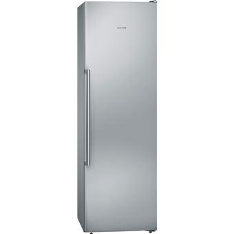 Arca Congeladora Vertical Siemens GS36NAIEP | 186x60x65 cm | 242 L | E | Aço inoxidável