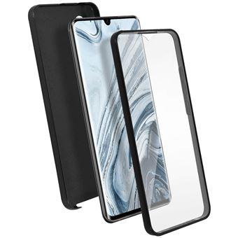 Capa Proteção Avizar para Xiaomi Mi Note 10 /10 Pro | Proteção Retaguarda/ Frente Suave - Preto