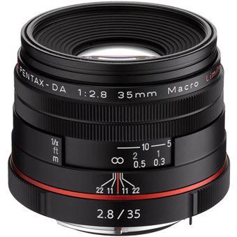 Pentax HD-DA 35mm F2.8 Macro Limited SLR Lentes macro Preto