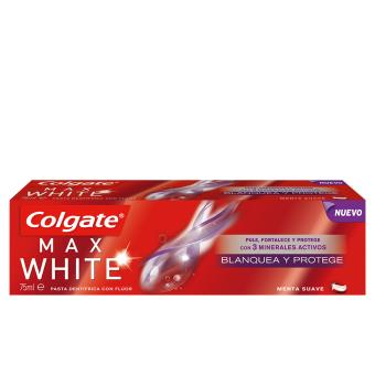 Pasta de Dentes Colgate Max White Protege Y Blanquea 75ml