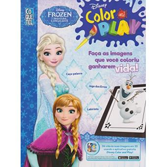 Disney Frozen. Color And Play