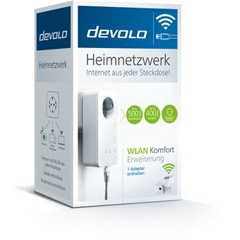 Devolo 9872 adaptador de rede elétrica 500 Mbit/s Ethernet LAN Wi-Fi Branco 1 peça(s)