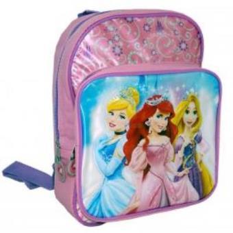 Mochila Princesas Charming Bolsa Frontal 30Cm Mochilas Pré