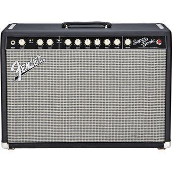 Fender Super-Sonic 22 Combo amplificador de áudio 2.0 canais Performance/palco Preto