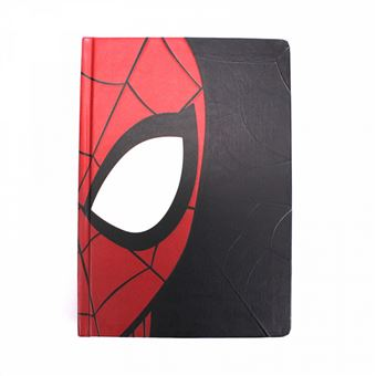 Caderno A5 Marvel Spiderman Face