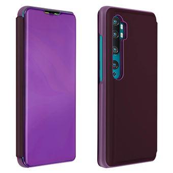 Capa Proteção Avizar para Xiaomi Mi Note 10 /10 Pro | Translúcida | Espelho | Suporte - Violeta