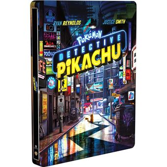 Pokémon: Detective Pikachu 3D Steelbook (Blu-ray)