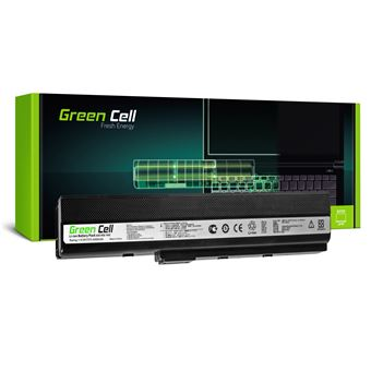 Bateria Greencell para Asus K52 K52J K52F K52JC K52JR K52N X52 X52J A52 A52F