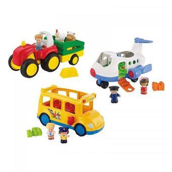 Veículos de Brincar Mattel com Figuras e Acessórios Sonoros Espanhol