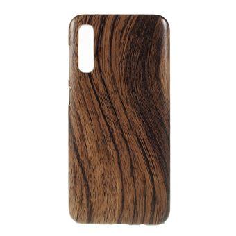 Capa TPU + PU grão de madeira para Samsung Galaxy A50