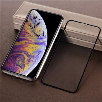Película de Vidro Temperado 5D Curvado Preto para Apple iPhone XR
