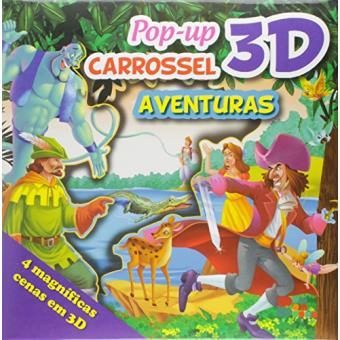 Aventuras - Coleção Pop-Up 3D Carrossel