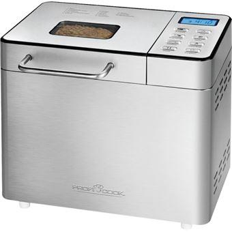 ProfiCook PC-BBA 1077 máquina de pão Preto, Prateado 550 W