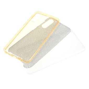 Capa TPU combinação de papel flash ouro para Samsung Galaxy A50