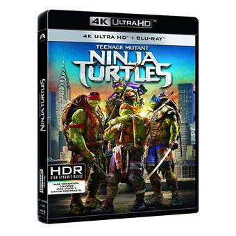 Teenage Mutant Ninja Turtles (4K Ultra HD) / Ninja Turtles 1 (2Blu-ray)