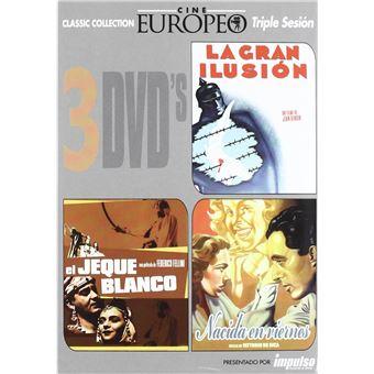 La Gran Ilusion Jeque Blanco Nacida Viernes / La Grande Illusion+Lo sceicco bianco+Teresa Venerdì (DVD)