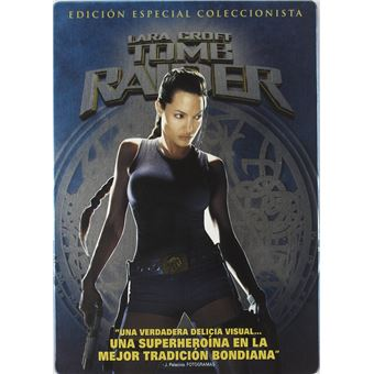 Lara Croft: Tomb Raider ( 2001) (Steelbook) / Tomb Raider (DVD)